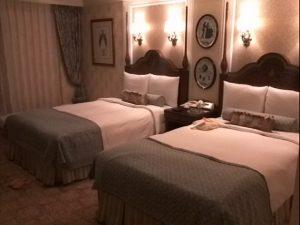ディズニーランドホテル シンデレラルーム ベッドルーム